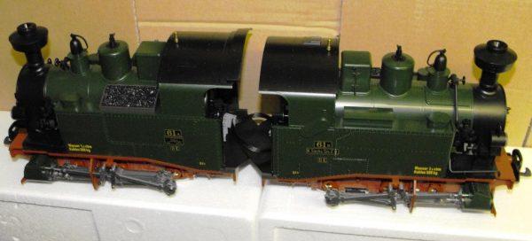 L20990 LGB Steam Loco Saxon Class II K. Size G Gauge -1163