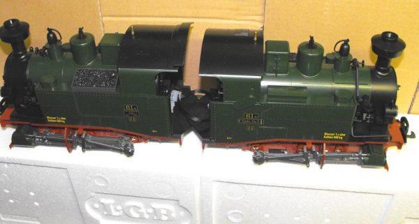 L20990 LGB Steam Loco Saxon Class II K. Size G Gauge -0