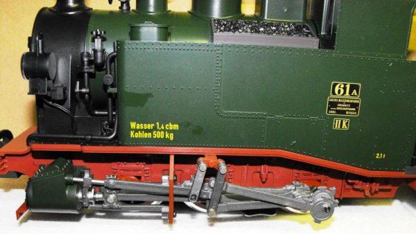 L20990 LGB Steam Loco Saxon Class II K. Size G Gauge -1165