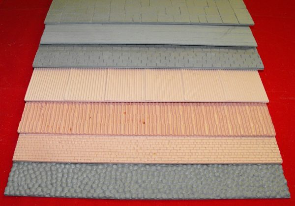 21-002 SHIRECRAFT range of Buiding Sheets for G gauge and related scales. A Patented range of products to help modellers achieve realistic texturing with the various sheets available.-0