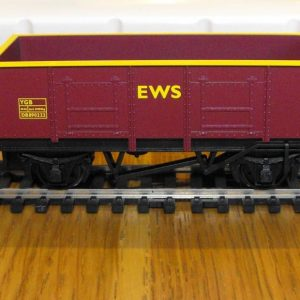 R6367 Hornby Coal wagon-pack LWB open wagon, pack of 3. Size: OO | New.-0