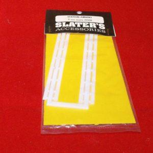 2Y006 Slaters Station Awning code 2Y006. Slaters Plastikard N gauge new.-0