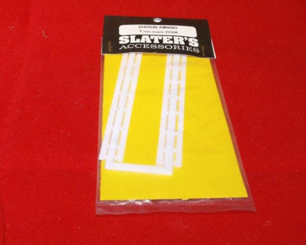 2Y006 Slaters Station Awning code 2Y006. Slaters Plastikard N gauge new.-0